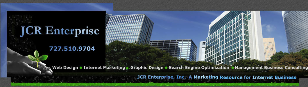 Internet Marketing Tampa Web Design JCR Enterprise Inc Website Development Services Service Tampa Bay Florida